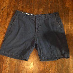 Men's Frank Stella Navy Shorts Size 40